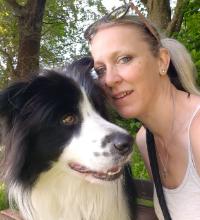 Hundeteam Gabi Harmann mit Amadeus